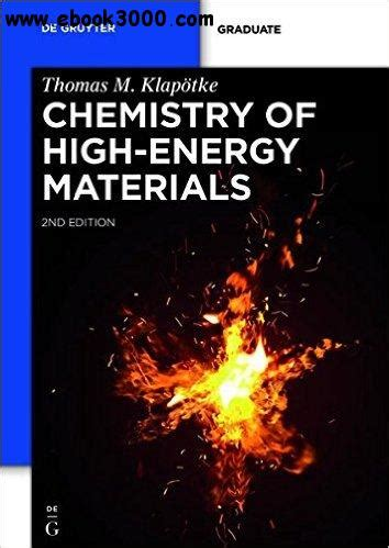 the of high energy books chemistry of high energy materials 2nd edition free