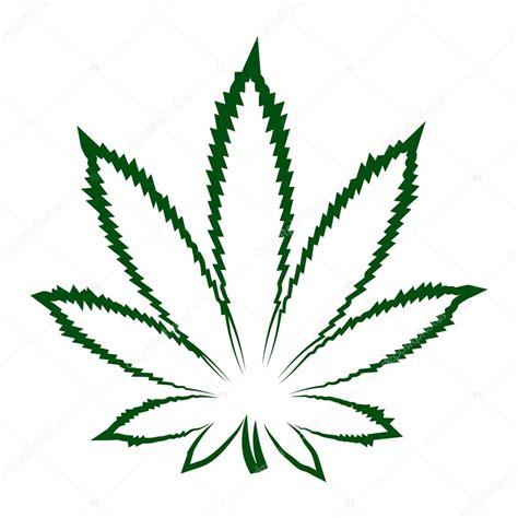 canapé dépliable hoja de marihuana moderna vector de stock