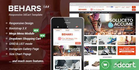 behars responsive 3dcart template 3dcart designsvault