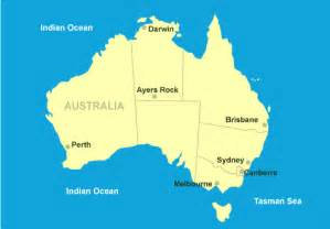 Canberra World Map by Canberra Australia Map