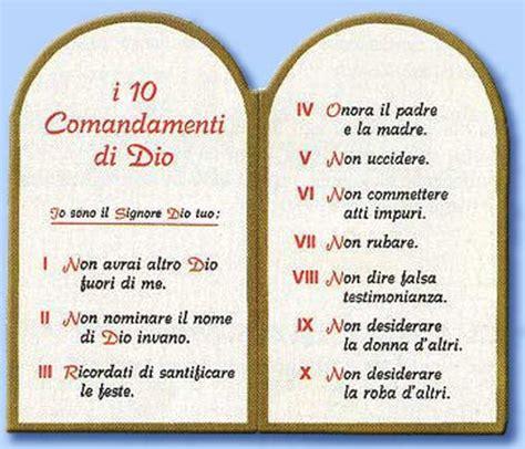 tavole dei 10 comandamenti la santa inquisizione mito o realt 224