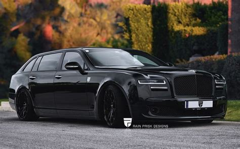 rolls royce phantom bentley mulsanne envisioned as