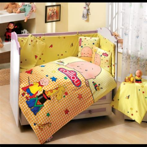 caillou bedding caillou yellow baby duvet quilt comforter cover set 3