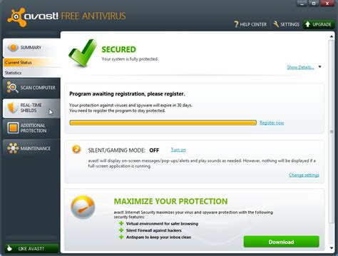 avast home edition for windows 7 free antivirus with