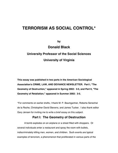 Social Theory Of Crime Essay by Social Theory Of Crime Essay College Essay Exles