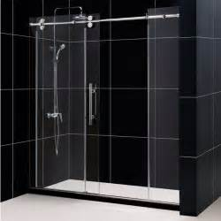 bathroom sliding glass shower doors best sliding shower doors reviews and guide 2017