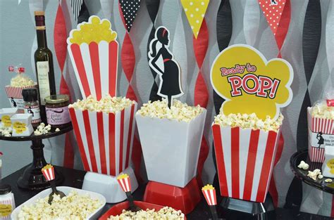Ready To Pop Baby Shower Theme Supplies by Ready To Pop Popcorn Bar Baby Shower Ideas Photo 6