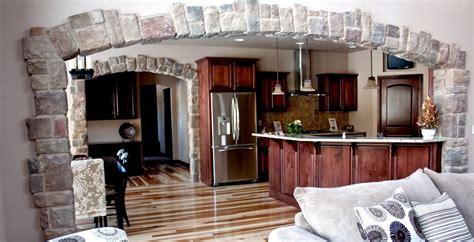 home interior arch design kitchen stone arch ideas