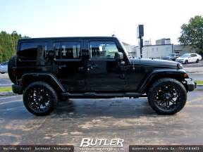 jeep wrangler with 20in fuel hostage wheels a photo on
