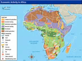 Africa Resources Map by Unit 2 Sub Saharan Africa Mr Washbond S Website