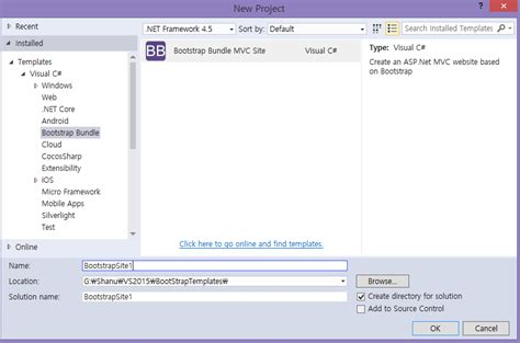 customizing project templates customizing asp net mvc bootstrap templates codeproject