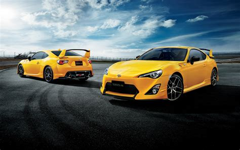 yellow toyota toyota gt86 yellow limited edition launched in