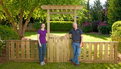 Garden Arbor And Fence Diy Fence Gate Arbor Free Pdf Woodworking Diy