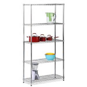 chrome metal shelving curtain bath outlet honey can do shelving 5 tier