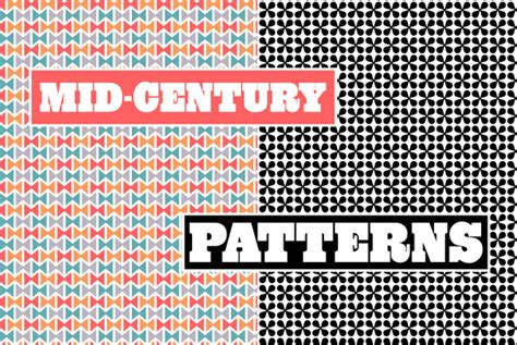 mid century patterns mid century patterns graphics youworkforthem
