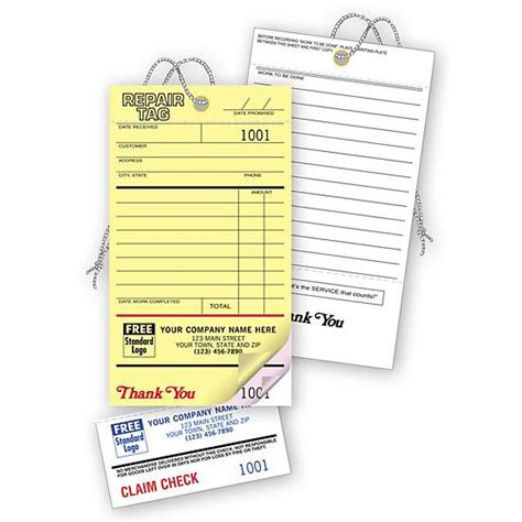 printable repair tags product details designsnprint