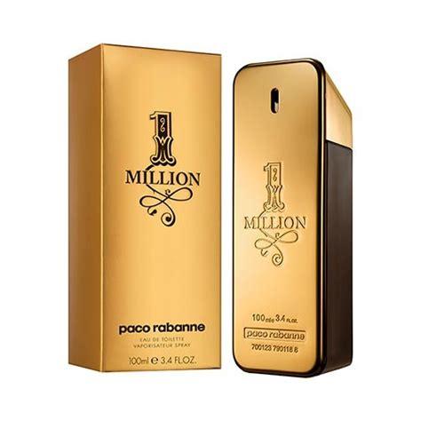 Parfum Eau De Toilette 1 1 million paco rabanne perfume masculino sephora