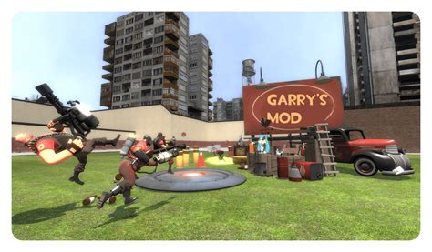 mod game action garrys mod steam game