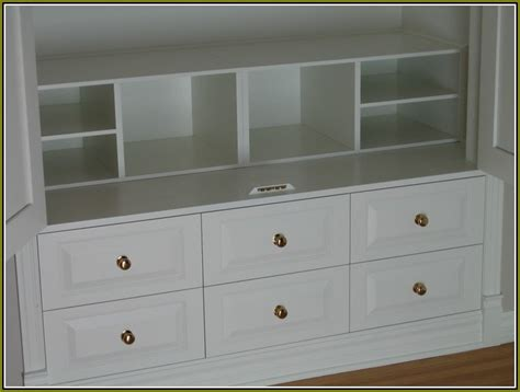 Drawer Units For Closets by Closet Storage Units With Drawers Home Design Ideas