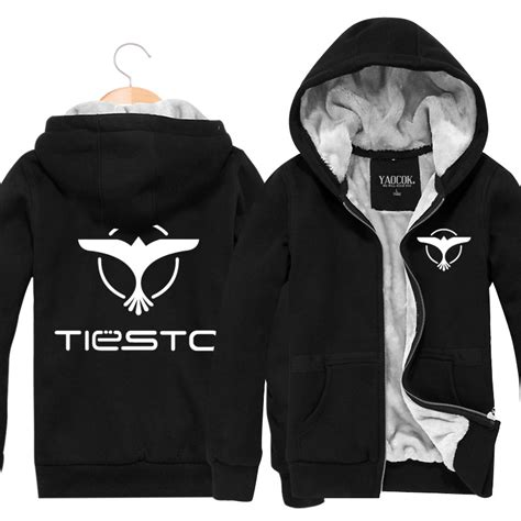 Jaket Hoodie Dj Zipper Martin Garrix Yellow dj tiesto iron stowe fleece zipper hooded jacket