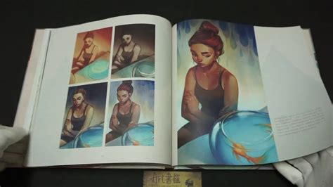 the art of loish a look behind the scenes 作者lois van baarle youtube