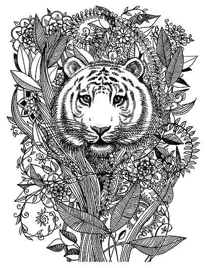 how to draw a doodle tiger doodle tigers pesquisa do coloring for