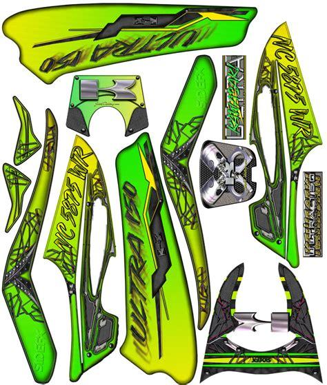 Kawasaki Ultra Sticker Kit by Jetski Detailing