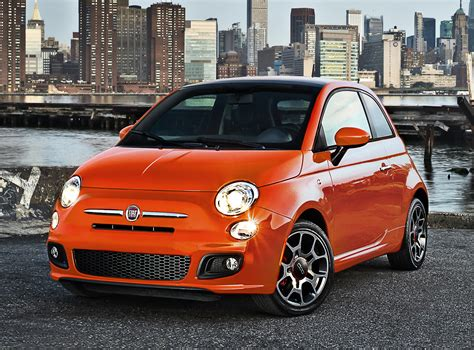 fiat 500 for sale new front quarter view
