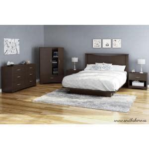 monaco platform bed bedroom set chocolate queen bedroom sets south shore bedtime story wood laminate queen size