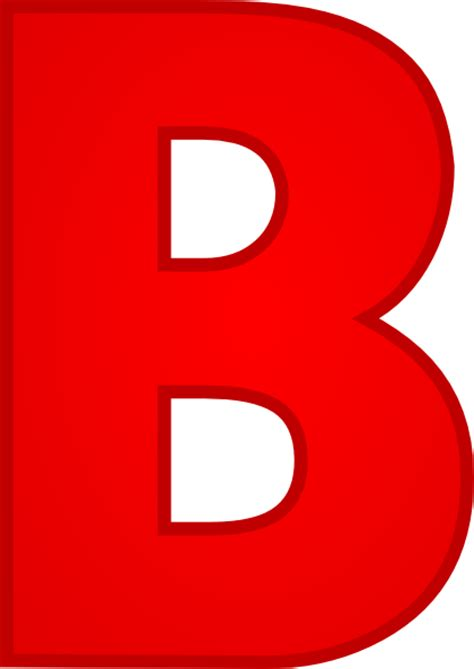 Letter B Clipart letter b clip at clker vector clip royalty free domain