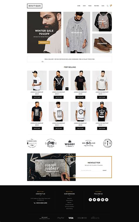 shopify boutique themes boutique multipurpose responsive shopify theme by