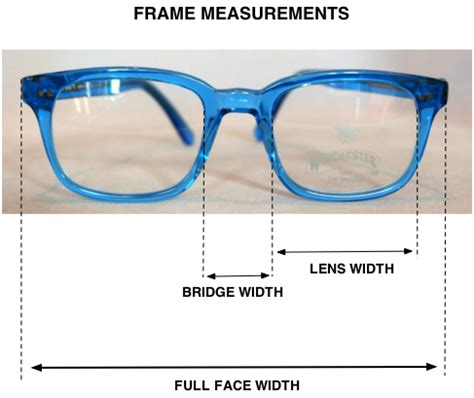how to measure your frame size for vintage retro glasses