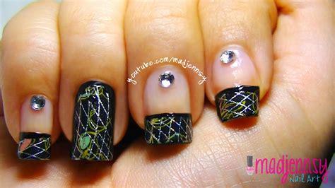 Ho1567w Nail Sticker Foil Roll Seri 1 how to nail foils hd tutorial manicure