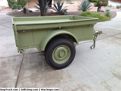 bantam trailer   serial   painted replaced