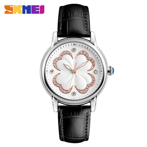Ready Stock Jam Tangan Analog Wanita Skmei Original Import 9142 jual jam tangan wanita skmei casual leather original 9159