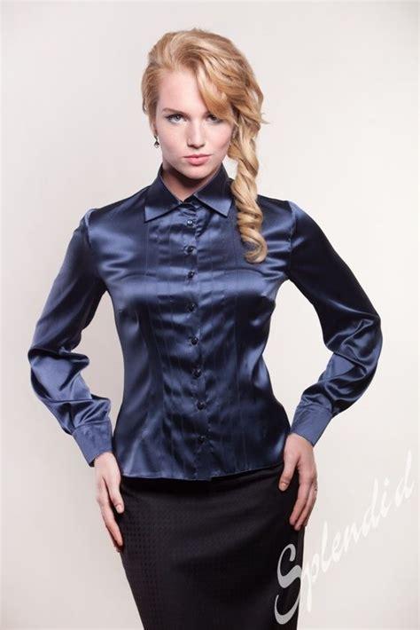 More Satin Looks by Silk Blouse Satin Blouse Silk Blouses