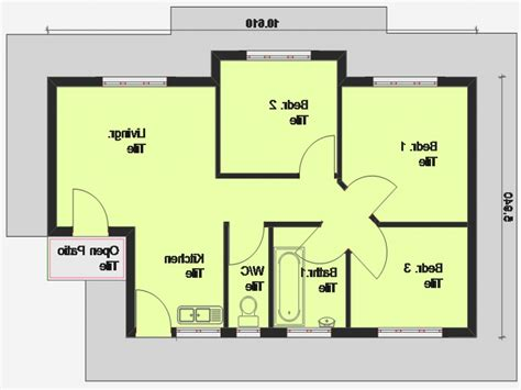simple 3 bedroom house plans simple floor plans bedroom house floor house plans floor