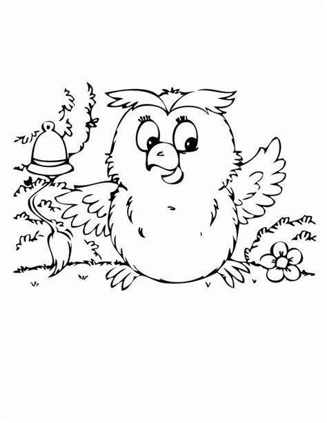 coloring page baby owl cute baby owl coloring page school az coloring pages