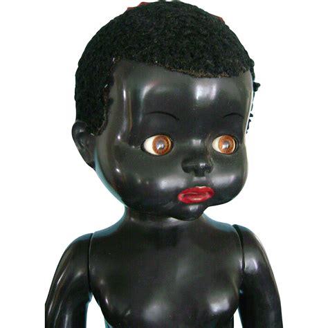 black doll 1940 vintage 1940 s black pedigree 22 inch doll with