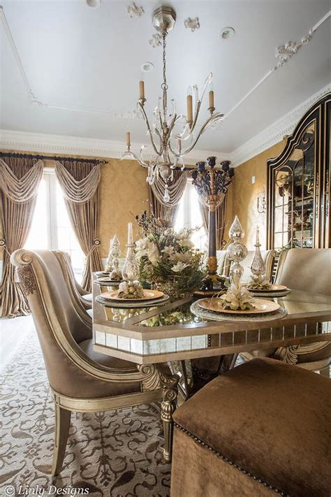 dining room tablescapes dining room holiday tablescape elegant homes pinterest