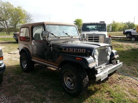 1985 Jeep Renegade Purchase Used 1985 Jeep Cj7 Renegade 5spd A C Cruise