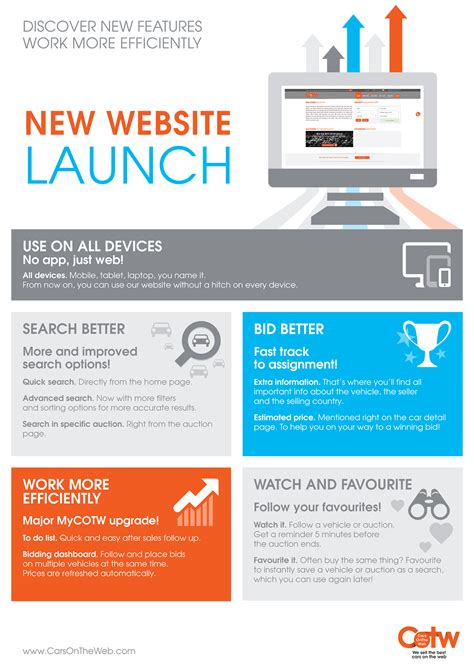 New Office Website Launches by New Website Launch Carsontheweb