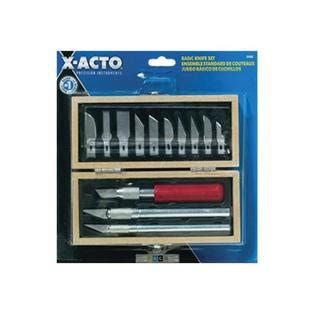 epix5082 x acto knife set with 3 knife x acto epix5285 knife set 3 knives 10 blades carrying