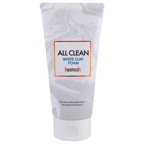 mikaly clay vitamins reviews heimish all clean white clay foam 150 g best vitamins