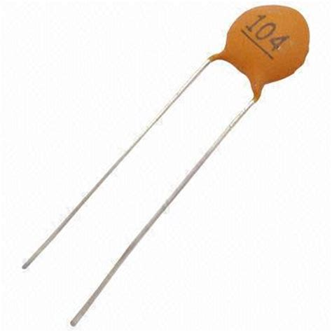 ceramic capacitor voltage ceramic disc capacitor with 50 to 500v voltage and 25 to 85 176 c operating temperature