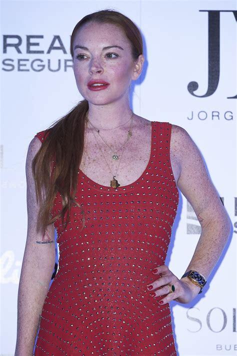 Lindsay Lohan by Lindsay Lohan Jorge Vazquez Fashion Show In
