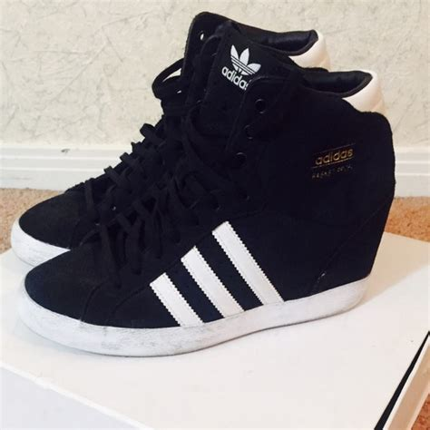 Wedges Bs by 42 Adidas Shoes Adidas Suede Wedge Sneaker