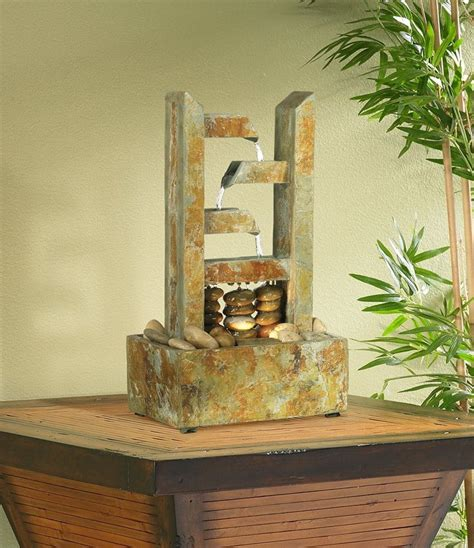 gorgeous indoor water fountains pictures designing idea