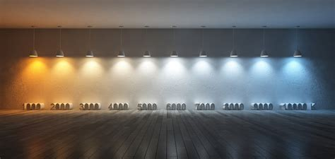 what is led lighting led color temperature explained polar led lighting