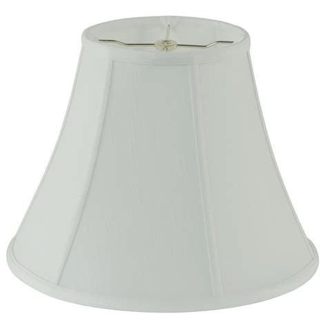 white bell l shade hton bay mix match bavarian grey rectangle bell